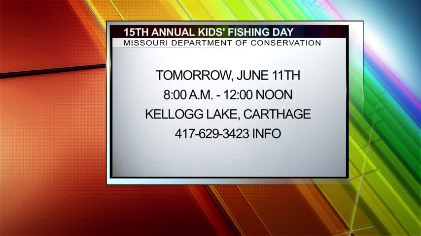 Local News Today- 15th Annual Kids- Fishing Day_99336633-159532