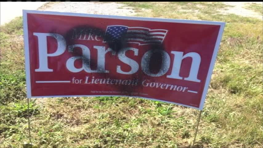Political signs reported stolen - vandalized in Joplin area_42248648-159532