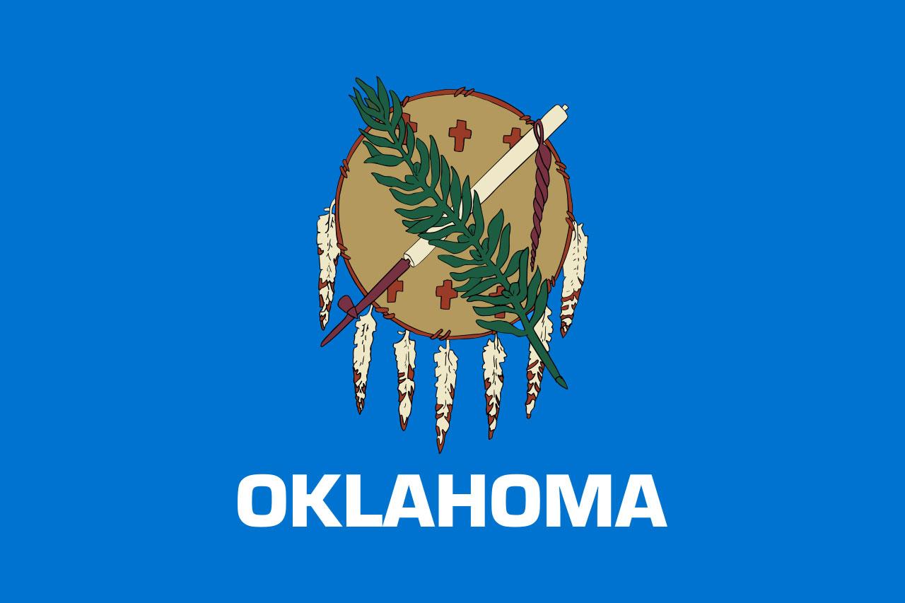 Oklahoma state flag38872124-159532