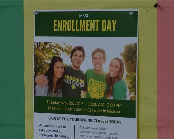 Crowder Enrollment Day