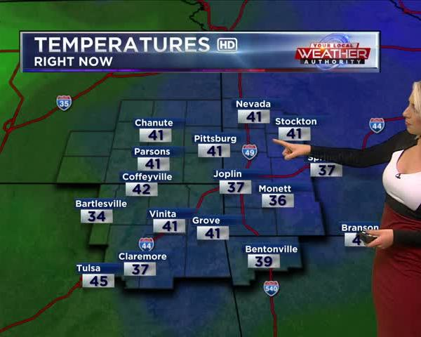 KSN Weather Forecast for December 16th, 2017