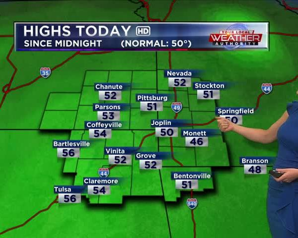KSN Weather Forecast for December 7th, 2017