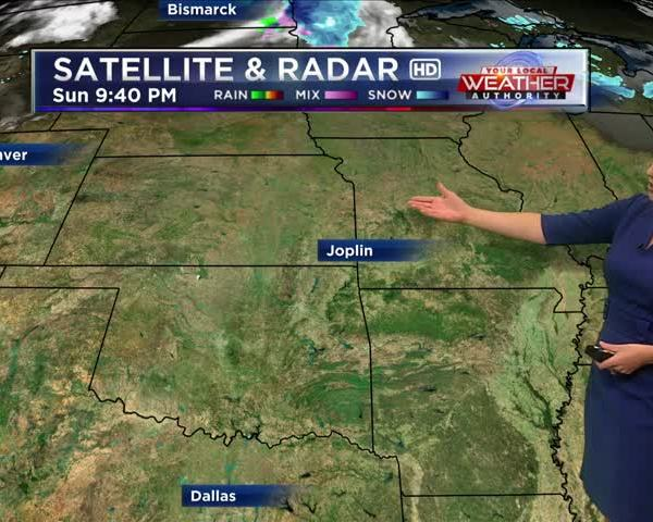 KSN Weather Forecast for December 12th, 2017