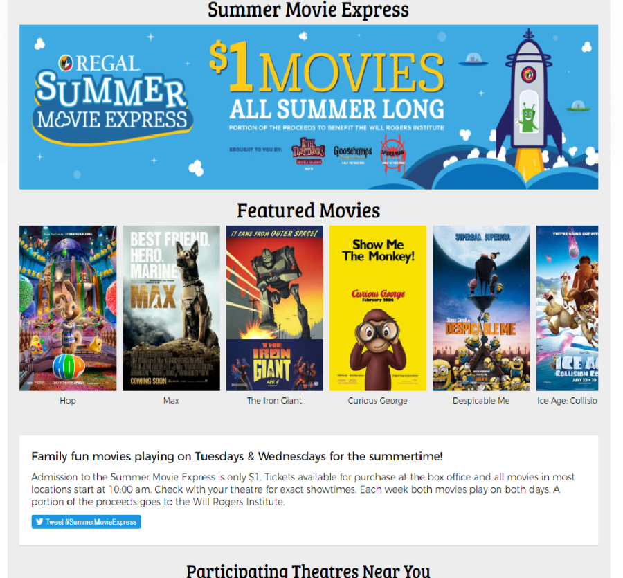 Movies Joplin Mo >> Summer Movie Express Is Only 1