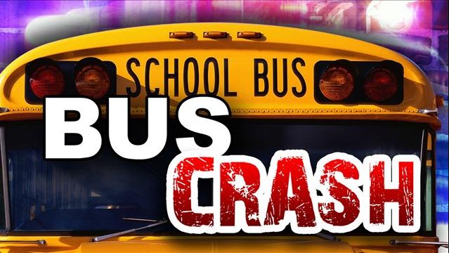 Four Kids Injured, One Man Dead After School Bus Crash