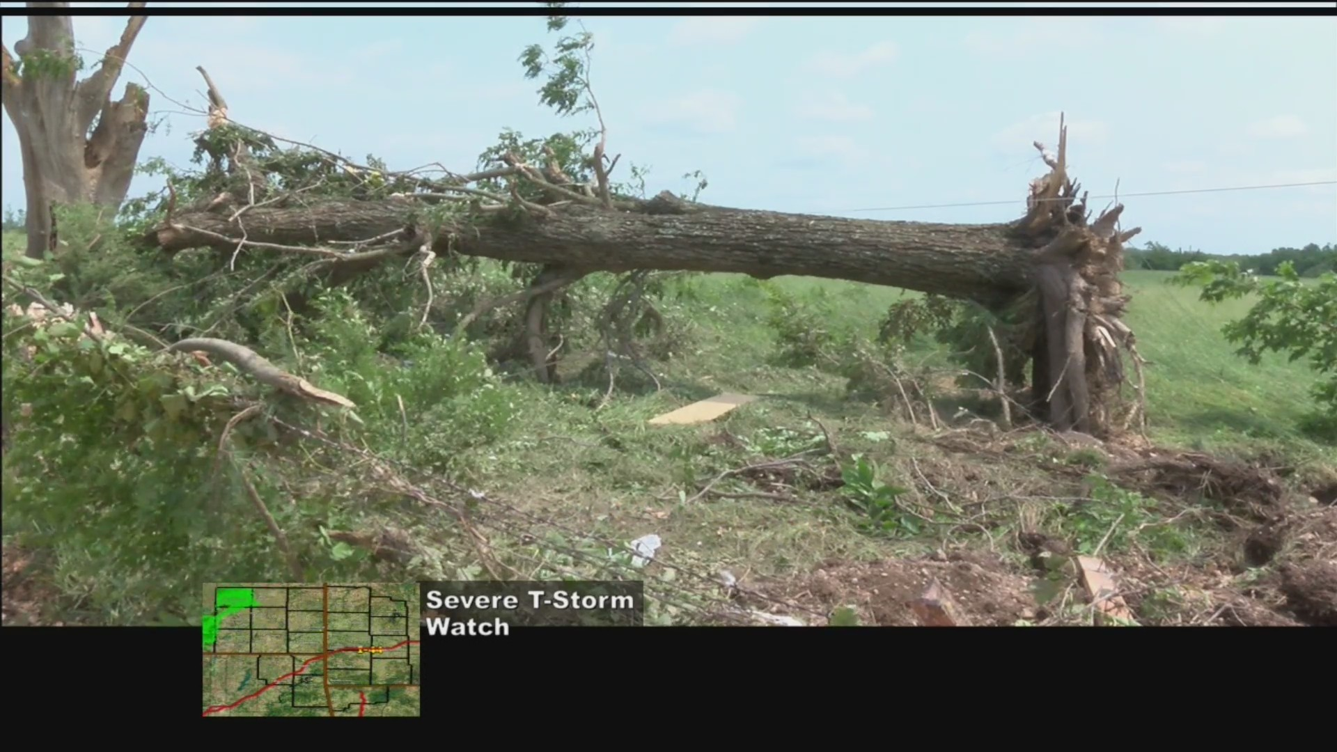 Jay Begins Storm Recovery Efforts