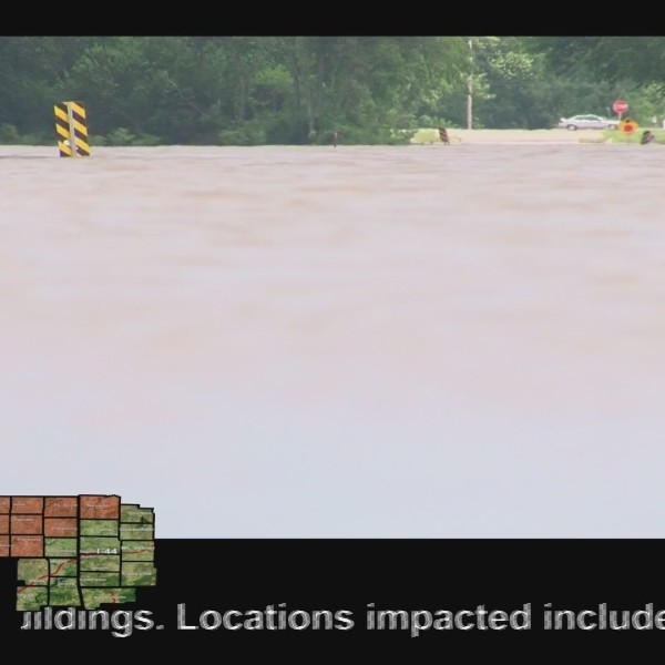 Parts of Chanute have been underwater for most of the week