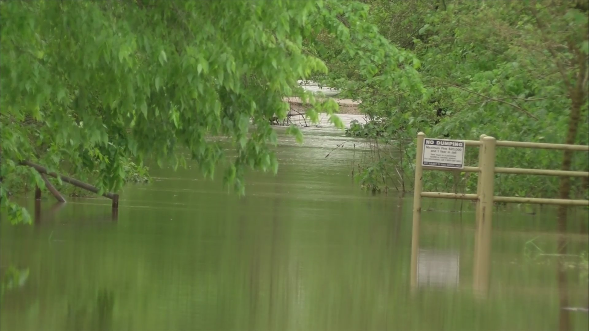 Tuesday's rains cause flooding in Carthage area