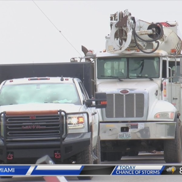 Westar Energy crews working to restore power from Monday's storms