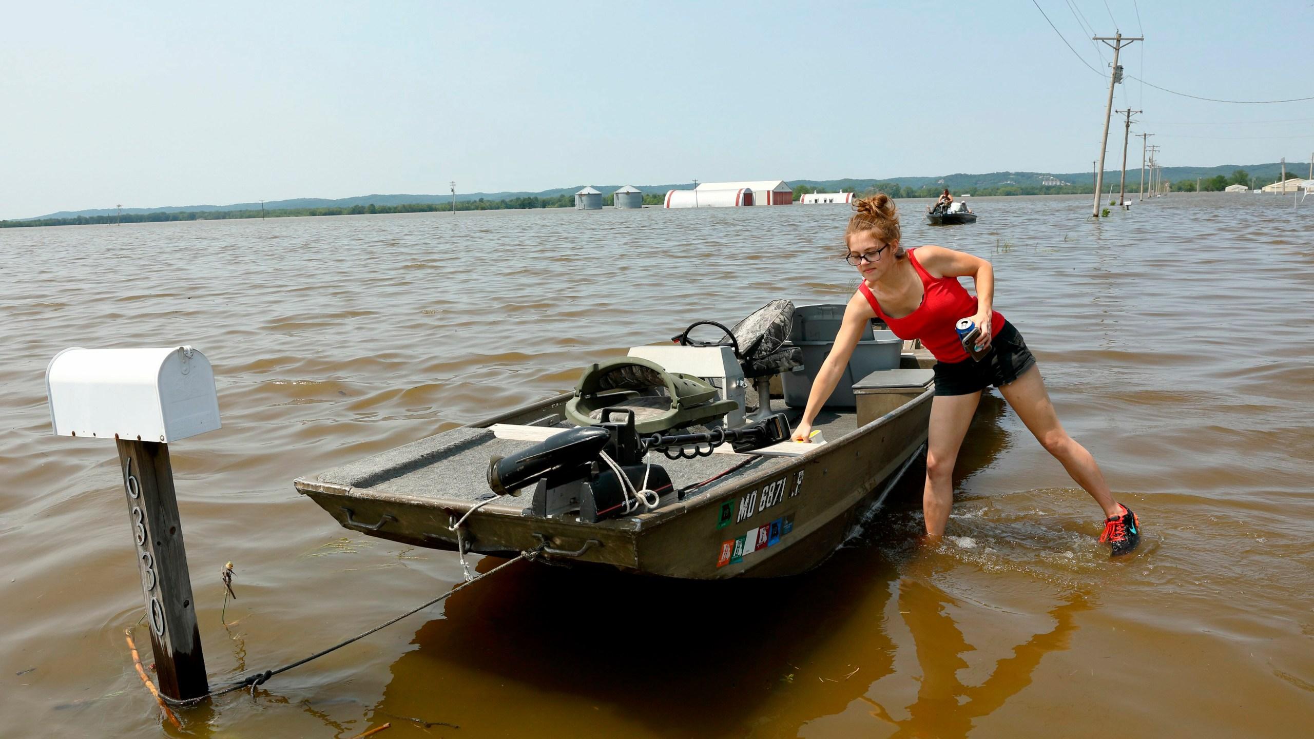 Mississippi River Spring Flooding