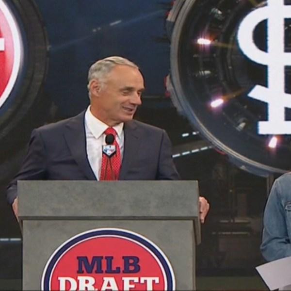 Brooke Bearden at 2019 MLB Draft