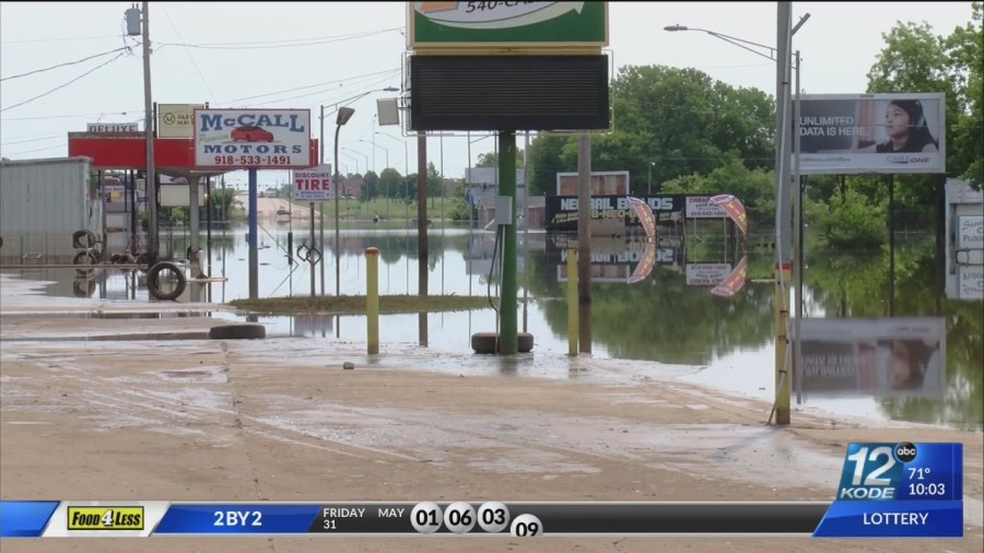 Oklahoma Lt. Governor assesses flood and storm damage in Miami