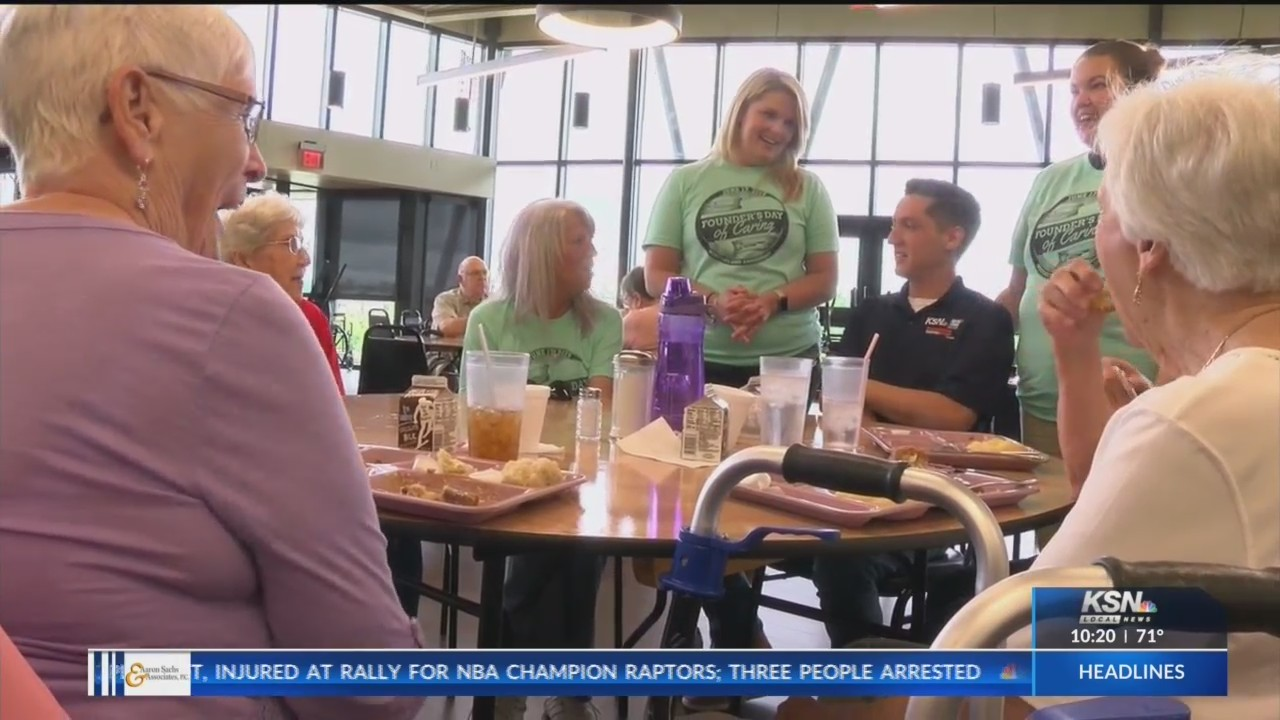 TV station employees go out into community for Nexstar Founder's Day of Caring