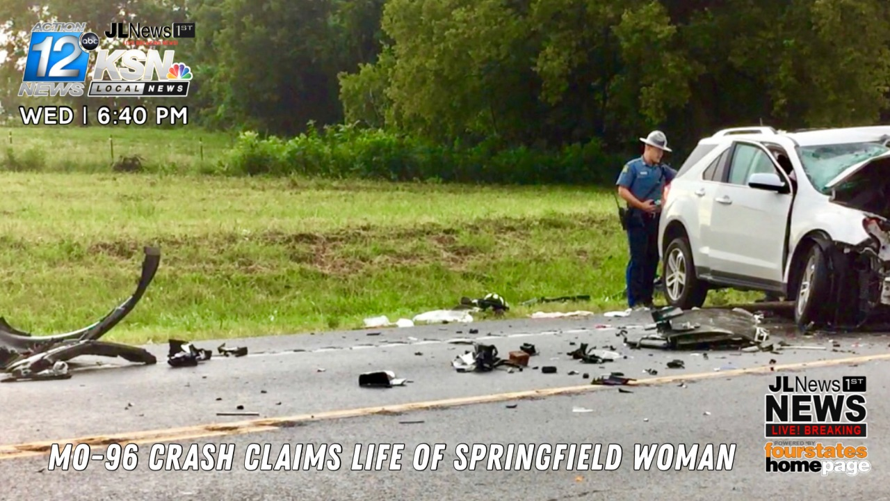 MO-96 Crash Claims Life of Springfield Woman | KSNF/KODE