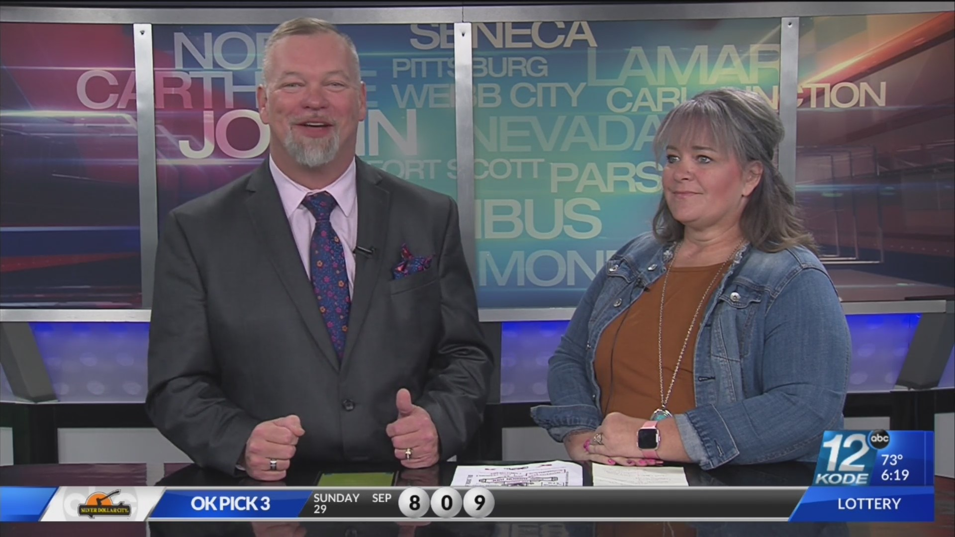 sandy hicks tells bubba all about the 7th annual pink ribbon ride ksnf kode fourstateshomepage com fourstateshomepage com