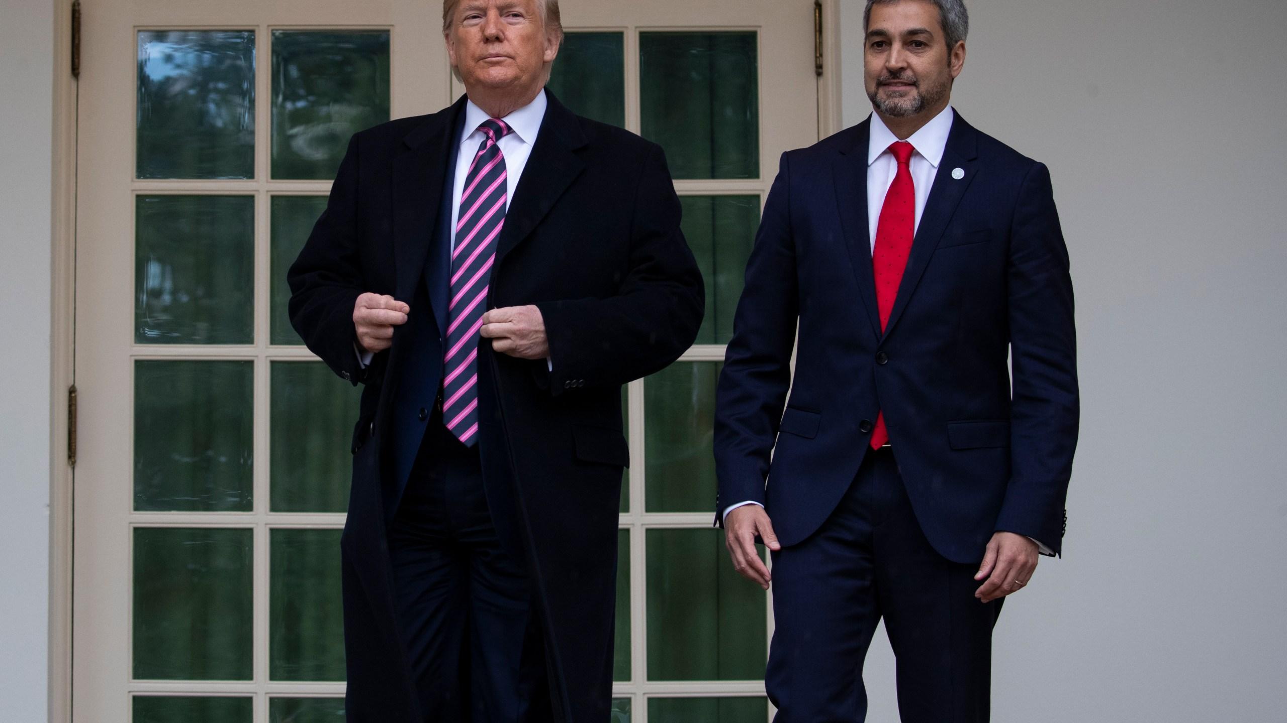 Donald Trump, Mario Abdo Benitez