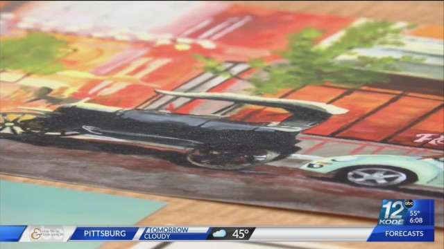 PSU art students hold pop-up gallery