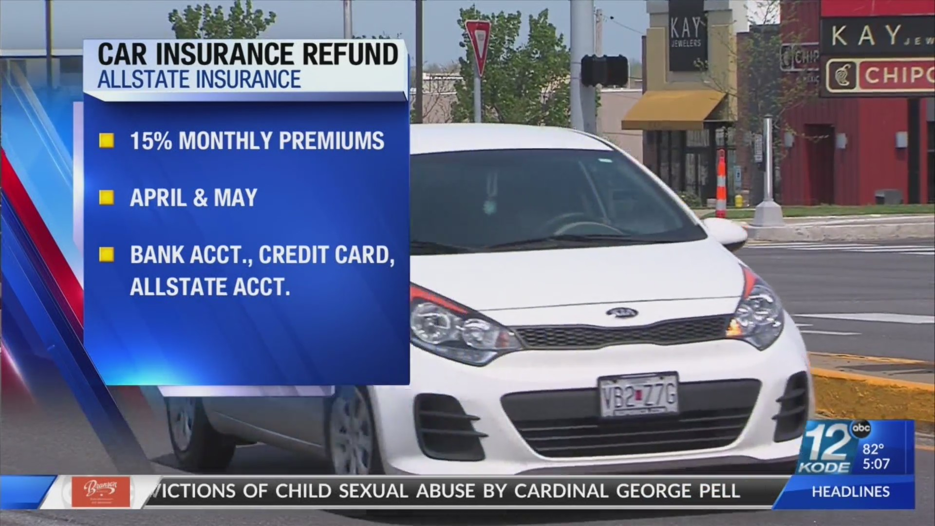 Several Insurance Companies Giving Partial Refunds Of Premiums