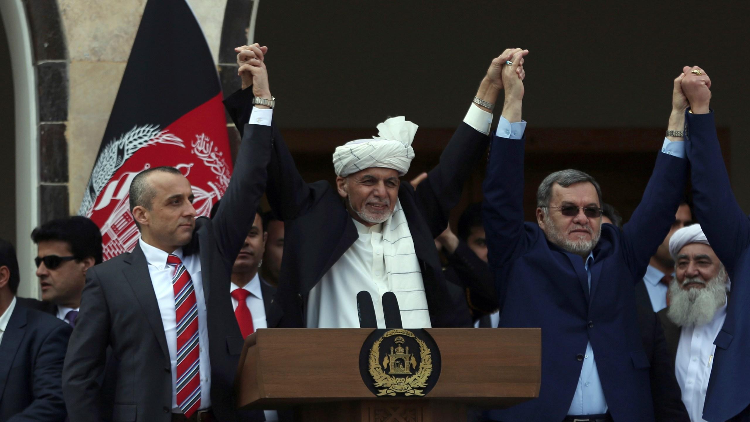 Ashraf Ghani, Sarwar Danish, Amrullah Saleh