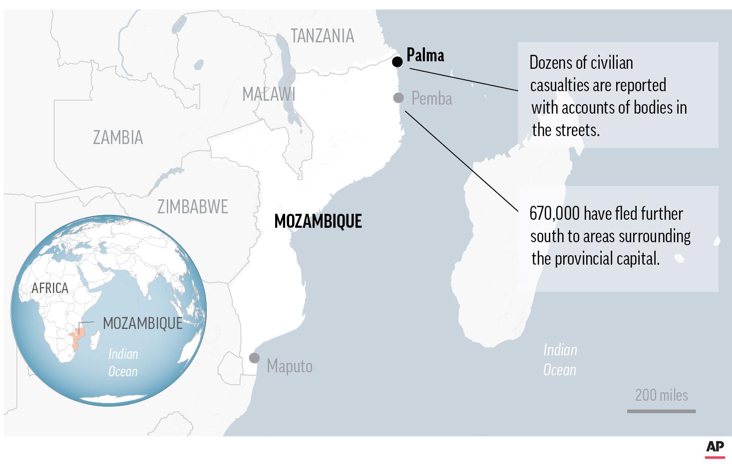 Mozambique Rebel Attack