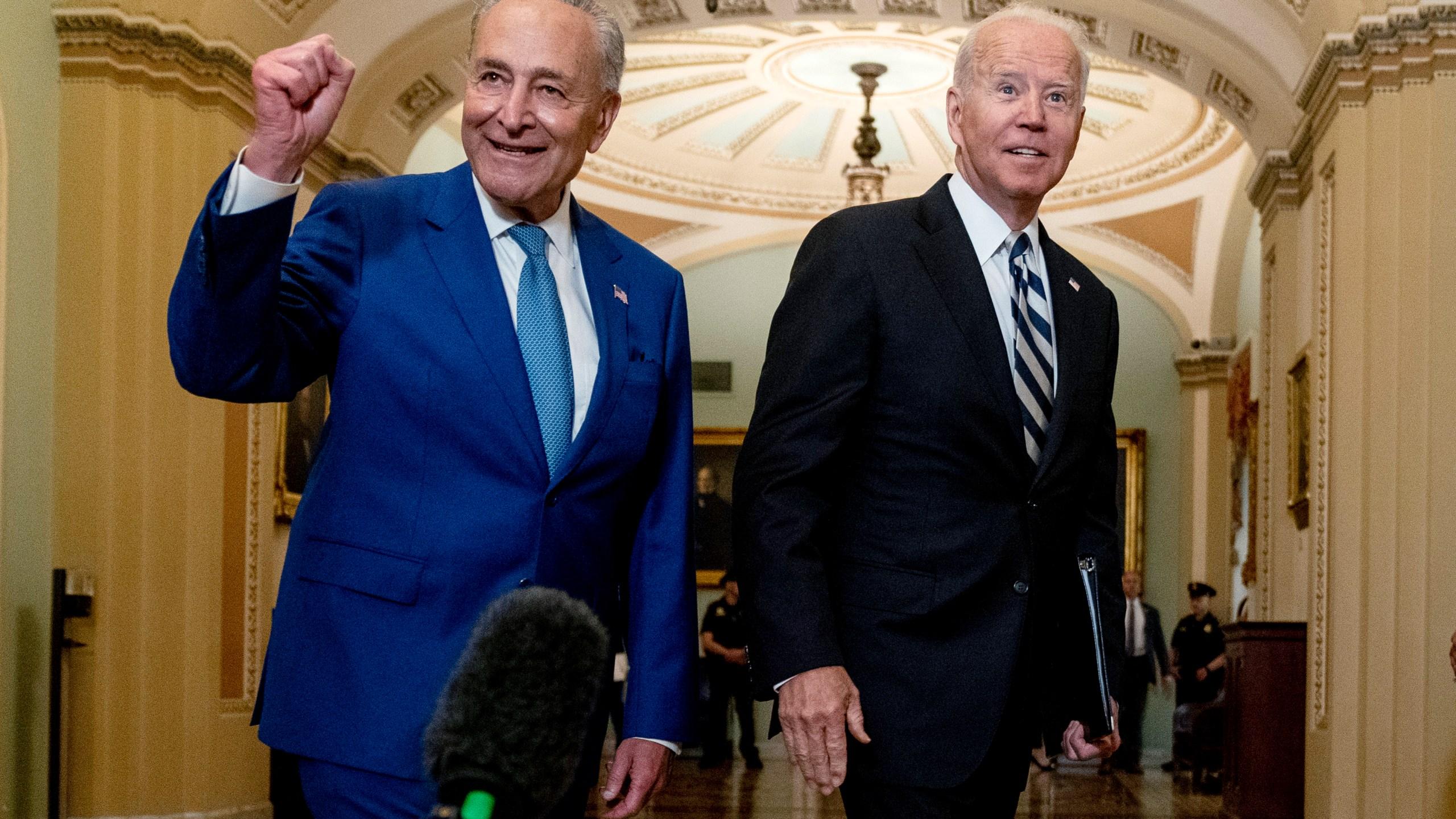 Joe Biden, Chuck Schumer
