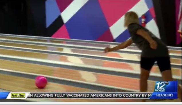 Local businesses and community members spent the afternoon bowling for a good cause