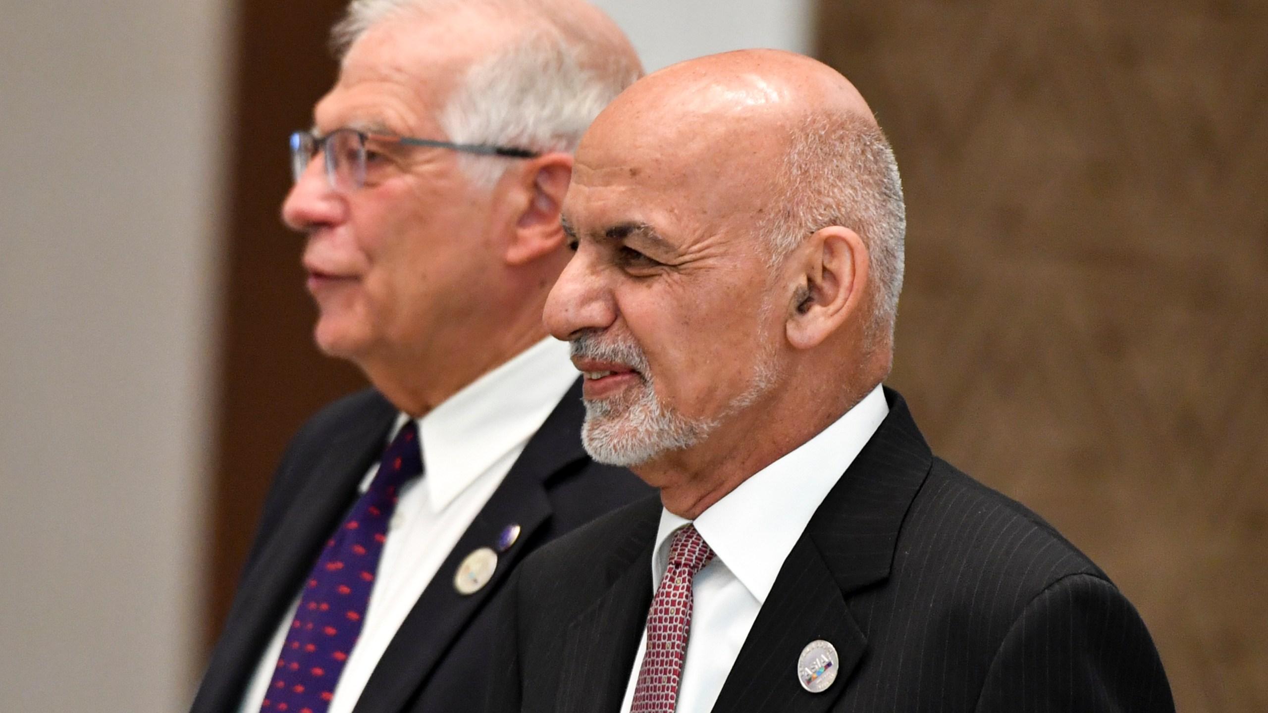Josep Borrell, Ashraf Ghani